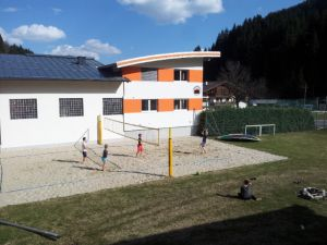 Beachvolleyball Anfang April 2014